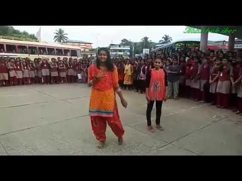 RRVGHSS ,kilimanoor.......plus one science students FLASHMOB on blood donation