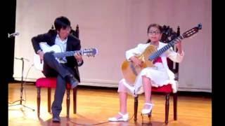 Perlita León y Riber Oré. Flor de retama. Guitarra Ayacuch...