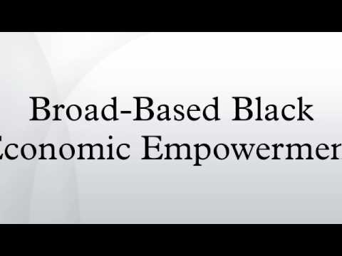 black economic empowerment and economic performance The department briefed the committee on its black economic empowerment   first, south africa's future economic growth will depend less on it's natural.