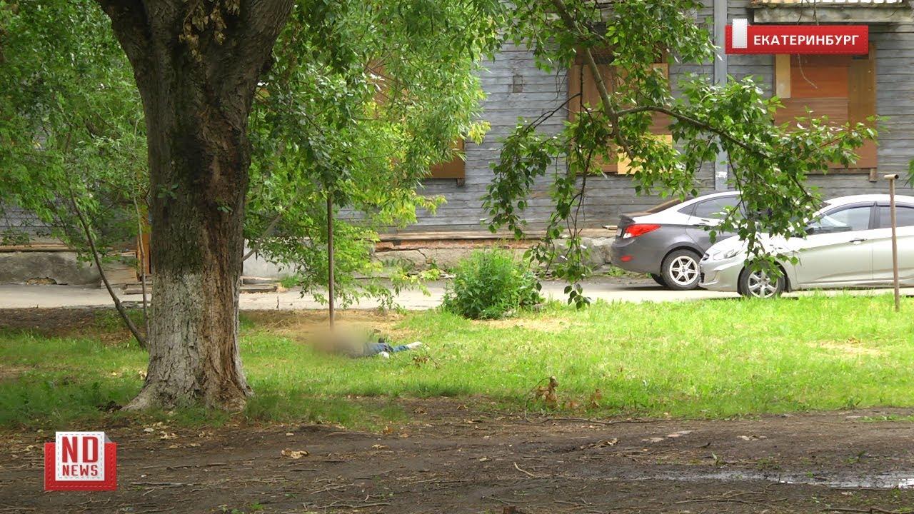 Во дворе на Уралмаше полдня лежит труп