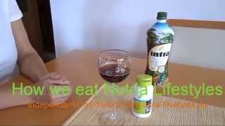 How drink Intra Juice and add Nutria capsules? Look video...