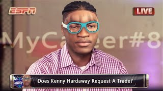 DOES KENNY HARDAWAY REQUEST A TRADE? | NBA 2K20 MYCAREER #8