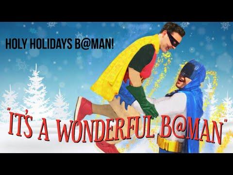 """B@ """"It's A Wonderful Life, Batman!"""""""
