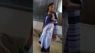 school girl dancing...