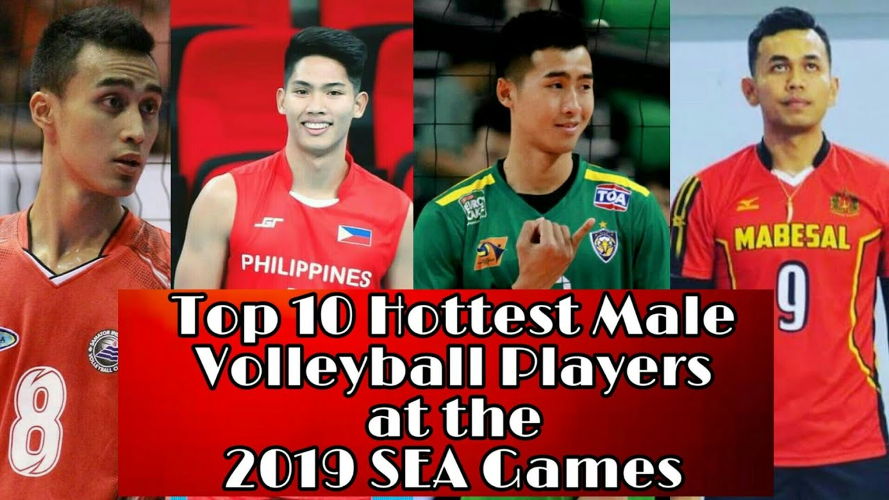 Top 10 Hottest Male Volleyball Players At The 2019 Sea Games Youtube