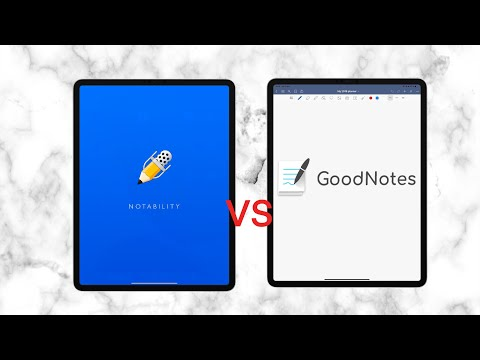 Notability vs GoodNotes 5 (2019)| Paperless Student
