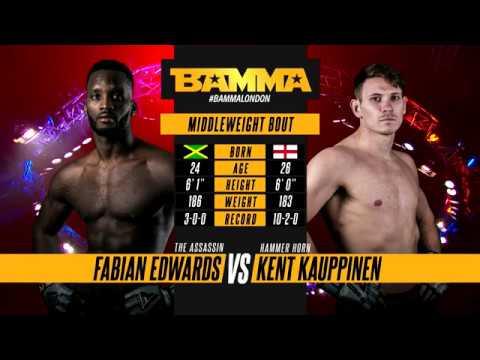 BAMMA 34: Fabian Edwards vs Kent Kauppinen