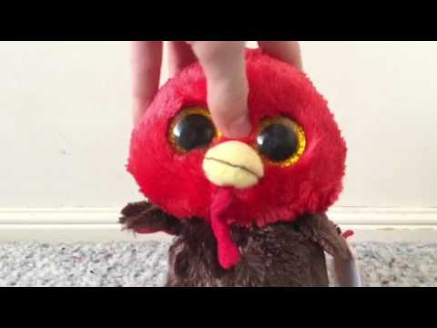 Opening Beanie Boo Feathers | Cody's Beanie Boos