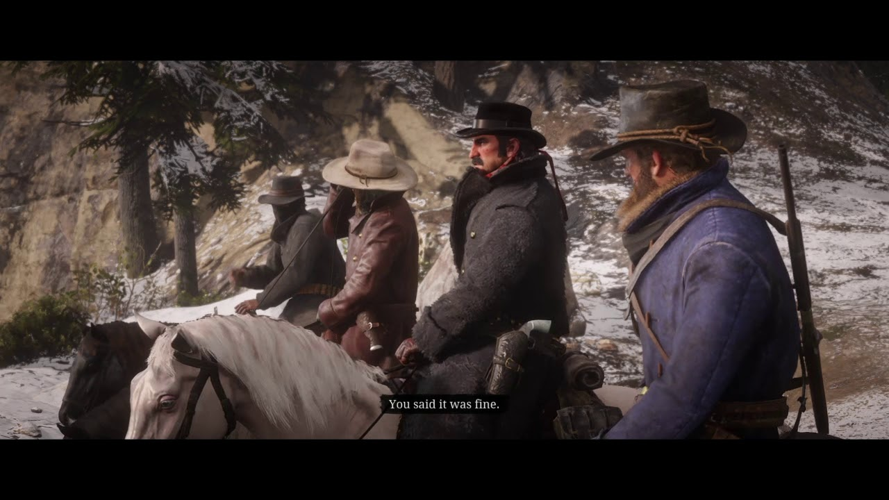 Red Dead Redemption 2 Who The Hell Is Leviticus Cornwall #5