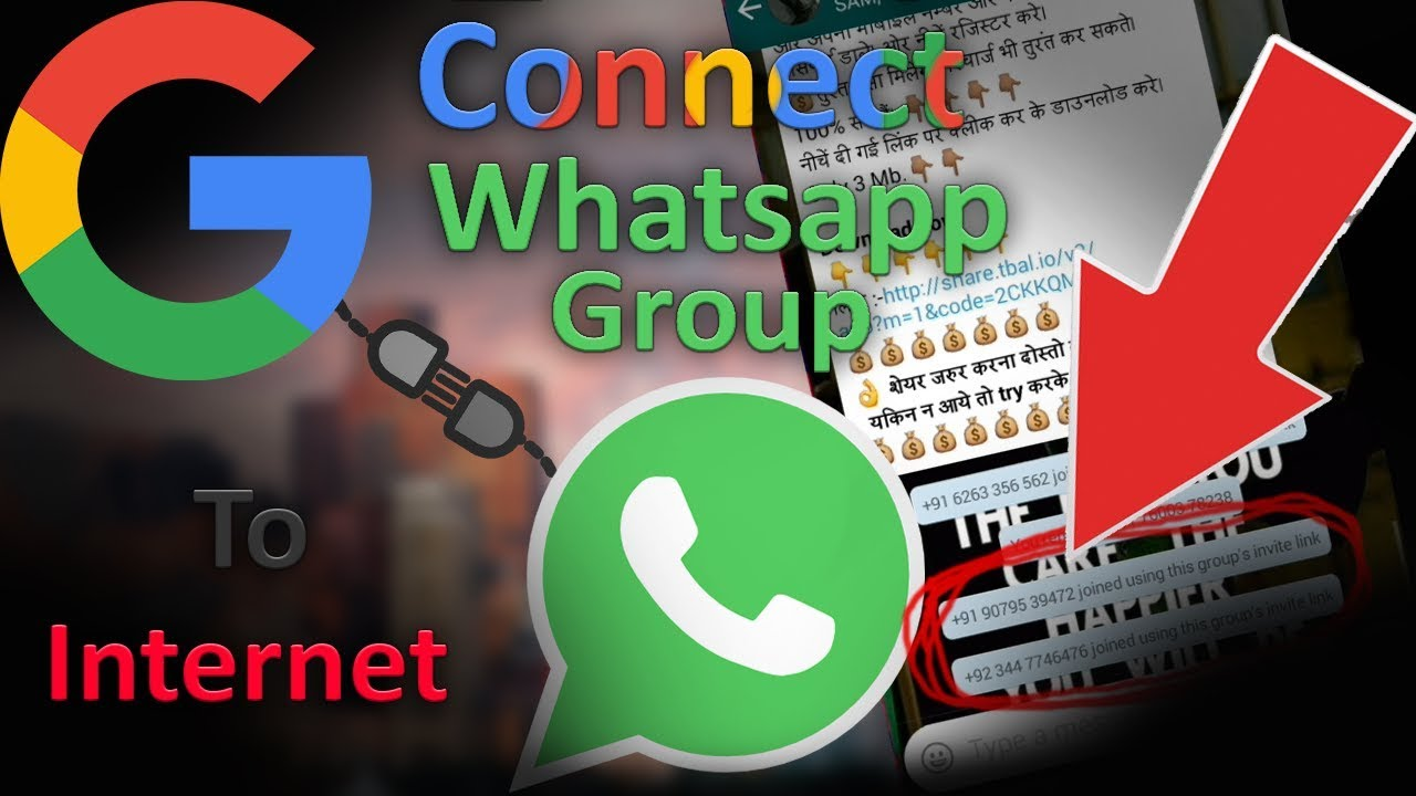 Upload whatsapp group link to the internet for free