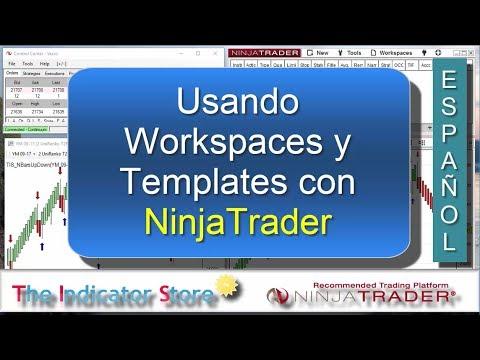 Usando Templates y Workspaces en NinjaTrader 7 y 8