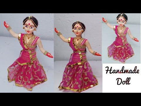 ECO Friendly Doll . Handmade Dancing Doll | Clay Art