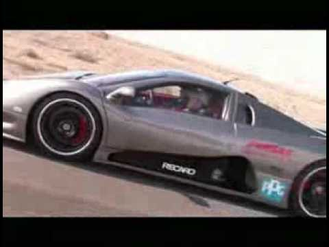 412,28 km/h  World Record TOP SPEED    SSC Ultimate Aero