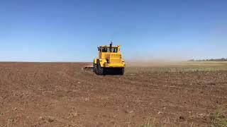 Обработка залежных земель дискатором Бдм-6х4 и трактором К-701 от Goodland