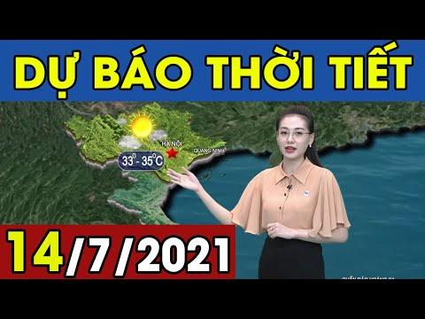 Dự Báo Thời Tiết Đêm Nay Và Ngày Mai 14/7/2021 | Dự Báo Thời Tiết Quảng Ninh Hôm Nay