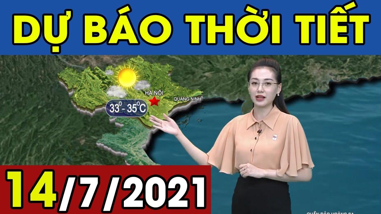 Dự Báo Thời Tiết Đêm Nay Và Ngày Mai 14/7/2021 | Dự Báo Thời Tiết Quảng Ninh Hôm Nay | Thông tin thời tiết hôm nay và ngày mai