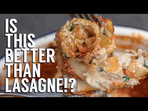 EPIC VEGAN ROTOLO | ULTIMATE VEGAN PASTA BAKE