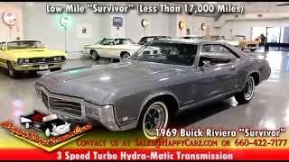 """FOR SALE - 1969 Buick Riviera """"Survivor"""" - Visit HappyCarz.com"""