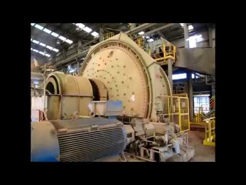 SAG & Ball Mill Grinding Circuit