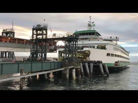 Puget Sound Ferry Ride