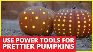 Pumpkin Carving With Power Tools Shown On Fox 2 Tv Detroit