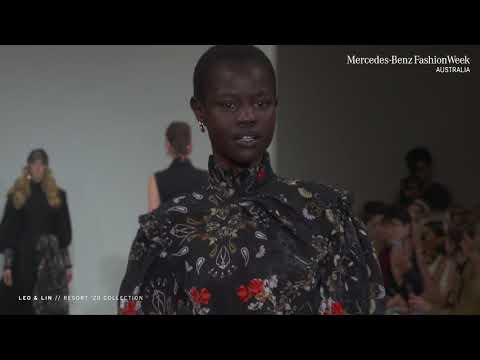 LEO & LIN MERCEDES - BENZ FASHION WEEK AUSTRALIA RESORT '20 COLLECTIONS