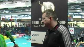 U19 WFC 2011, Day 3: Norway vs Switzerland, interview Thomas Berger