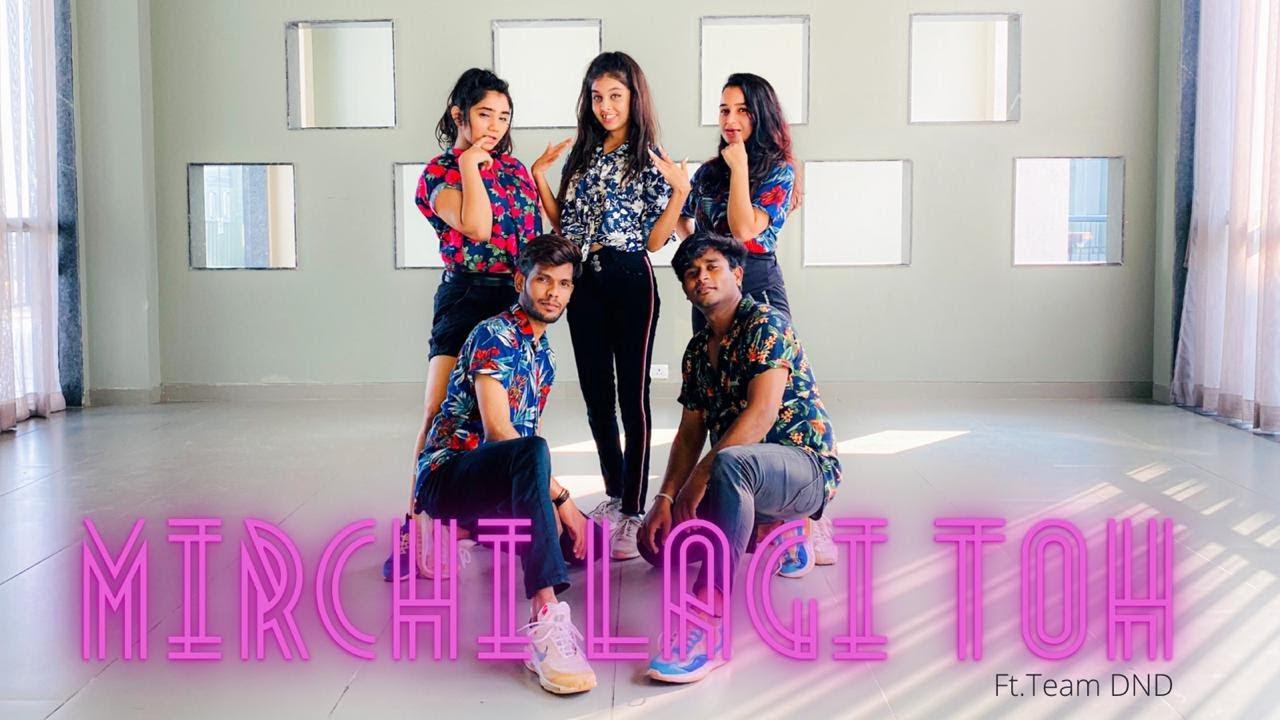 Mirchi Lagi Toh - Coolie No.1  Varun Dhawan Sara Ali Khan,Alka Yagnik Kumar Sanu   Dance&Drill Cover