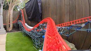 Magnum XL-300: POV (Backyard K'nex Rollercoaster)