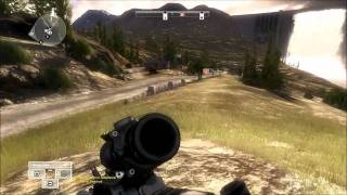Operation Flashpoint Red River gameplay