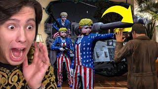 TENTANDO SOBREVIVER A UMA NOITE DE CRIMES NO GTA 5!! (The purge)