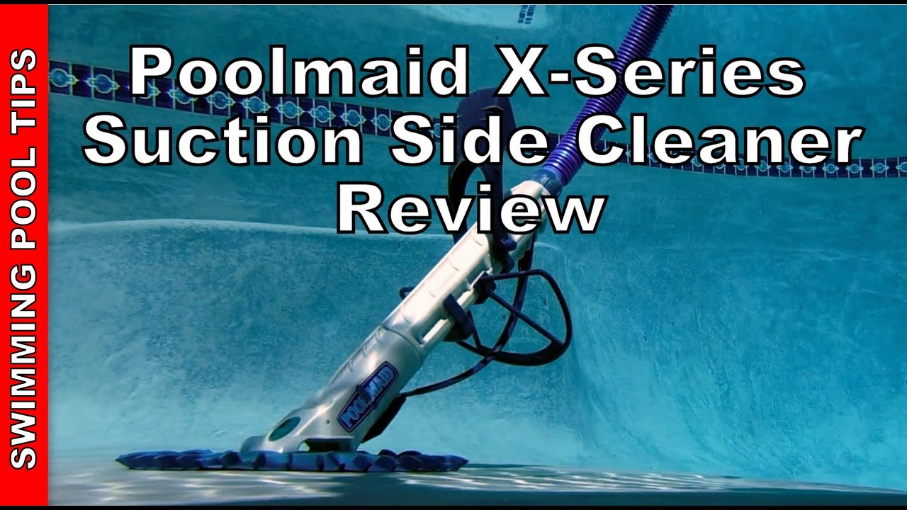 Poolmaid X-Series Automatic Suction Side Pool Cleaner by IPP - Review