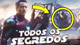 TODOS OS SEGREDOS DO TRAILER 3 DE VINGADORES 4 ULTIMATO