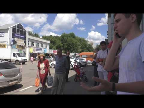 Как бесплатно проехать на парковку у крытого рынка г.Саратова
