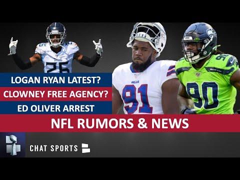 NFL Rumors: Jadeveon Clowney, Logan Ryan & Cam Newton + NFL News On Ed Oliver Arrest & DeAndre Baker