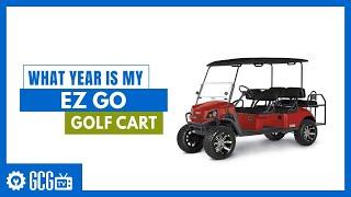 What Year is My EZGO Golf Cart | Wiring Schematic F401 Ez Go Golf Cart |  | Golf Cart Garage