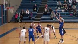 Basketball: Sauk Rapids at Sartell Section 8AAA playoff (March 6, 2013)