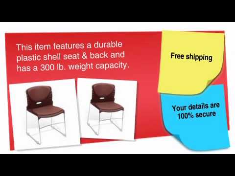High Capacity Vinyl Seat & Back Stack Chair – ofconcepts.com