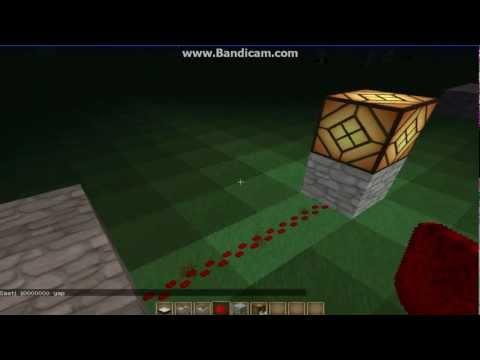 Minecraft Tanıtım Rehberi Bölüm #  2 Güneş Sensörü ile Işık