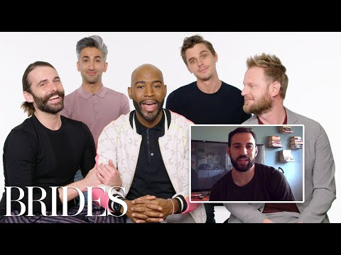 Queer Eye's Fab Five Help a Stranger Propose to His Girlfriend | Brides