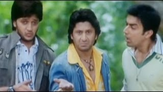 Worlds longest car jump - Dhamaal Comedy Scene