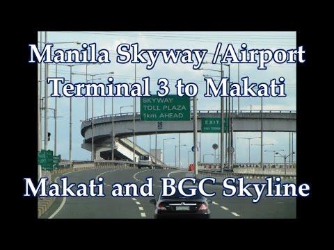 METRO MANILA PHILIPPINES - NEW AIRPORT SKYWAY