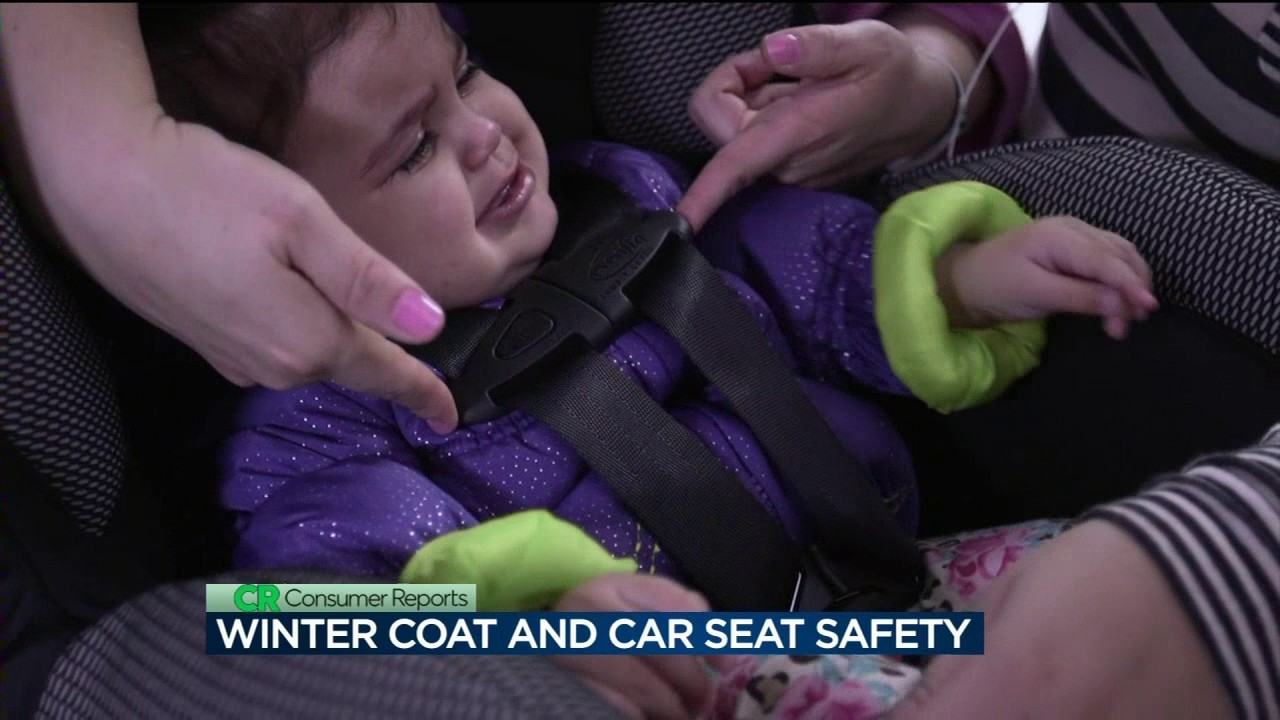 046ca63ac Consumer Reports  Winter coat and car seat safety - YouTube