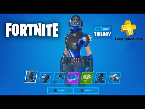 Fortnite - FREE Playstation Plus Celebration Pack Preview