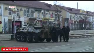 Ровно год назад в Грозном бандгруппа напала на Дом печати и школу № 20