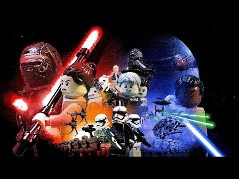 Star Wars The Force Awakens Trailer 3 in Lego HD