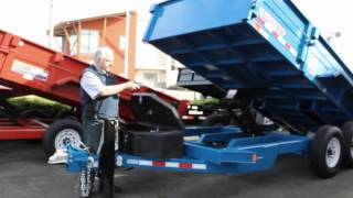 Town and Country Truck and Trailer # 5881: 2014 Midsota Versadump HV-14 Dump Trailer