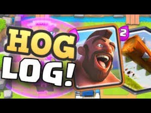 Clash Royale / Hog rider ladder gameplay live!