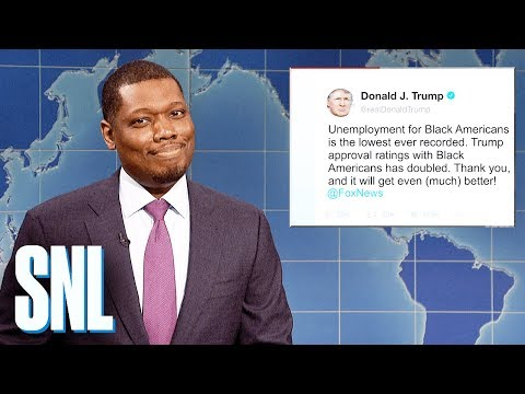 Weekend Update on Unemployment for Black Americans - SNL