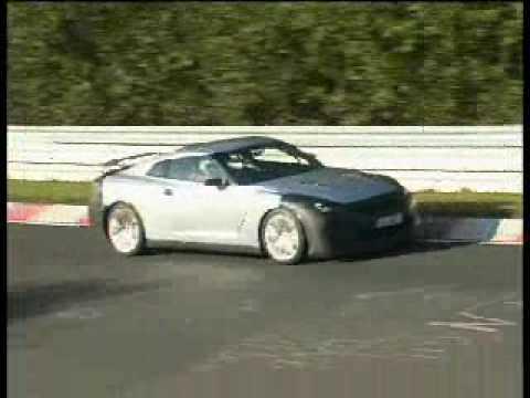 Nissan GT-R Spy Video
